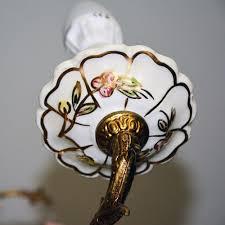 Antike Bronze Kronleuchter Mit Sanften Flora Dargestellt Keramik Teile Buy Antike Einzigartige Kronleuchterkronleuchter Bronze Farbigeantike
