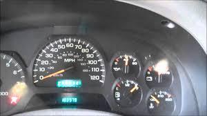 Trailblazer Check Engine Light Reset Oil Light Reset Procedure Chevrolet Trailblazer 2003 Chevy