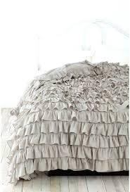 grey ruffle duvet cover grey ruffle duvet cover king