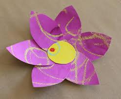 Paper Flower Crafts For Kindergarten Flower Crafts For Kindergarten Phpearth