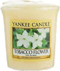 Yankee Candle <b>Tobacco Flower</b> - <b>Ароматическая свеча</b>: купить по ...