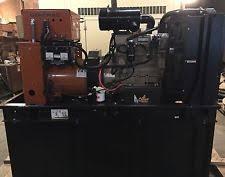 30kw diesel generator 30 kw diesel generator john deere 4024t base tank 120 240 low hrs sd030 generac