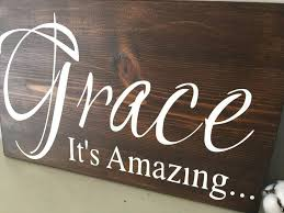 amazing grace wood sign religious decor rustic wall art canvas christian a d cc wooden canv on religious wall art canvas with amazing grace wood sign religious decor rustic wall art canvas