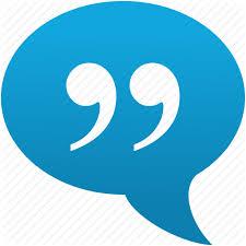 Quote Symbol Fascinating Citation Cite Comment Message Quotation Quote Speech Icon