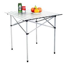 camping coffee table roll up folding camping table camping world coffee table