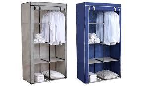 Free standing wardrobe Cool Groupon Sunbeam Freestanding Wardrobe Groupon Goods