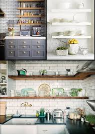 Open Shelf Kitchen Kitchen Attractive And Fabulous Open Kitchen Shelving Open