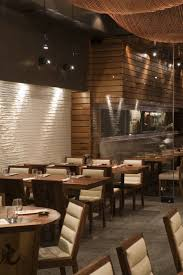 Decorative Fish Netting Tiger Restaurant With Wooden Wall Covering Panelling And Fish Net