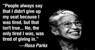 Rosa Parks Quotes Stunning Ten Memorable Quotes By Rosa Parks Kentake Page