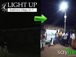 Street Lights In Villages Solar Street Lamps For Village Milaap