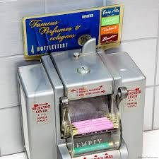 Vintage Perfume Vending Machine Best Diner Perfume And Napkin Vending Machine