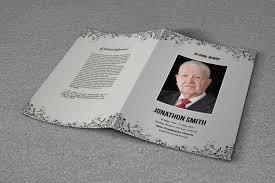 microsoft office funeral program template funeral program template obituary program template etsy