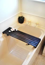 how to build a timber bath caddy