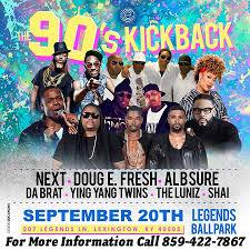 Whitaker Bank Ballpark Seating Chart Concert Lexington Legends To Host 90s Kickback Concert At Whitaker