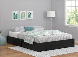 Ameriwood Furniture | Full Platform Bed Frame, Black Oak