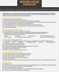 Nifty Printable Moving Checklist Kongdian