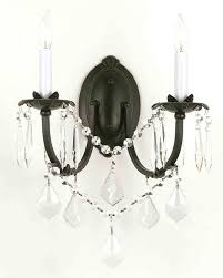 chandelier wall mount crystal chandeliers gratifying pertaining to famous wall mounted chandeliers view 1