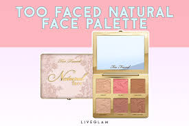 best multi purpose makeup palettes too faced natural face palette