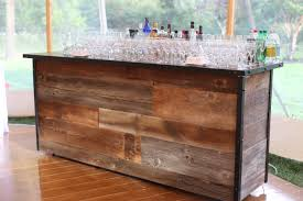 Barnwood Bar reclaimed barnwood bar couture event rentals nyc custom event 4165 by xevi.us