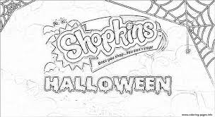 Halloween Shopkins Coloring Pages Free Halloween Images