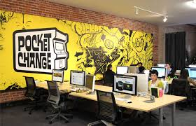 graphic designers office. Graphic Design Office Ideas Pocket Change 39 S Bold Branded Designers
