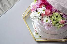 diy gift fresh flower gift box