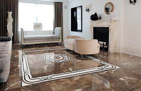 Marble flooring designs for living room with fireplace Flooring