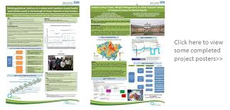 project posters documenting sharing and publishing your qi project quality