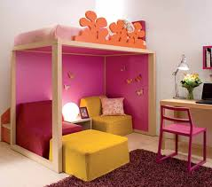 Kids Bedroom Idea Colorful Kids Bedroom Ideas For Small Space With Practical Loft