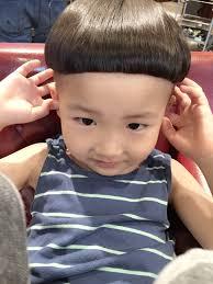 キッズカット ドングリの髪型 Stylistd