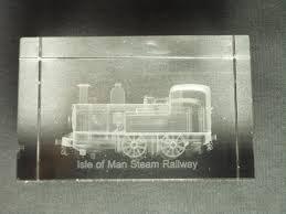 steam train crystal block