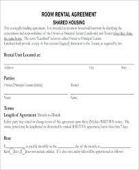room rental agreements california room rental agreement pdf california template alberta