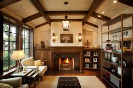 Tudor on the Point traditional-living-room