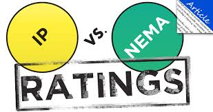 Ip Rating Vs Nema Chart Ip Vs Nema Ratings Larson Electronics