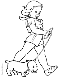 Small Picture Free Puppy Dog Coloring Sheets