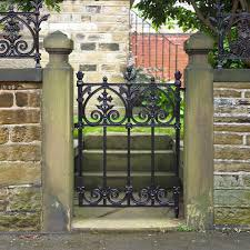 terrace garden gate