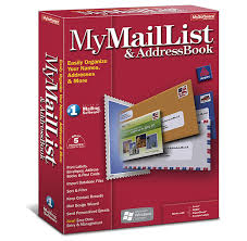 Christmas Card Mailing List Software Mymaillist Addressbook 8 Avanquest