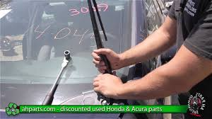 2001 Honda Civic Lx Windshield Wiper Size