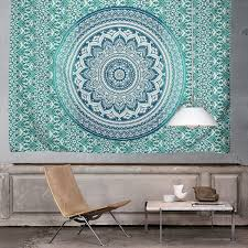 good excellent ideas wall hanging tapestry ombre indian hippie mandala bohemian bedspread uk modern with modern wall tapestry uk