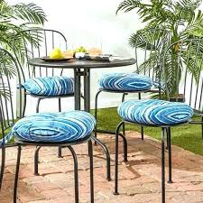 round bistro chair cushions lovely outdoor round bistro chair cushions with inch pads bistro chair cushions