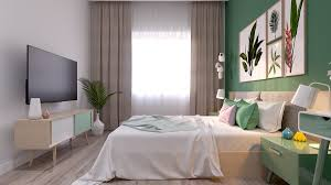 Pastel Bedroom Colors Bright Scandinavian Decor In 3 Small One Bedroom Apartments