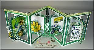 fold card by request accordion fold card castlepark designs