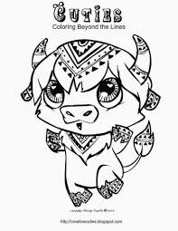 Creative Cuties Buffalo Coloring Page Love To Color Cute