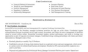 Private Wealth Management Resume Resume Hotel Management Resume