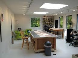 art studio lighting design. Amazing Track Lighting For Art Studio Or Storage Room Above Garage To 2 Skylights Design