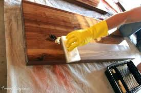 food grade finish for wood countertop sealing wood how to finish seal and waterproof wood counters