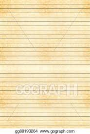 One Centimeter Graph Paper Eps Vector A4 Size Yellow Sheet Of Old Paper With One