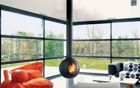 Modern Orb Fireplaces