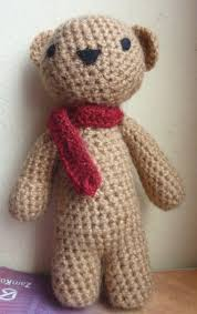 Easy Crochet Teddy Bear Pattern