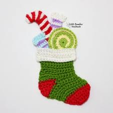 Find great deals on ebay for candy cane stocking. Candy Filled Christmas Stocking Crochet Pattern Allcrochetpatterns Net